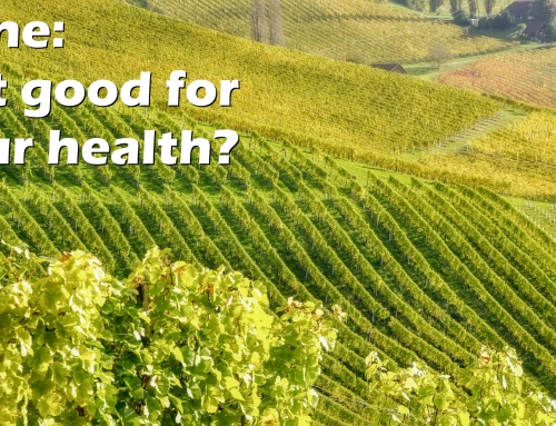Wine – Good for your health?