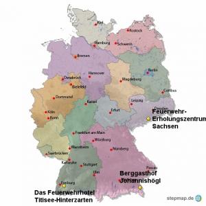 Karte andere Häuser