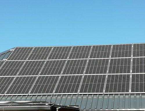 Unsere neue Photovoltaikanlage seit November 2020 in Betrieb
