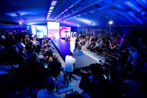 Fashionweeks Salzburg, Modeschau in der Tiefgarage, Parkdeck 4, Salzburg, 20160504, (c)wildbild