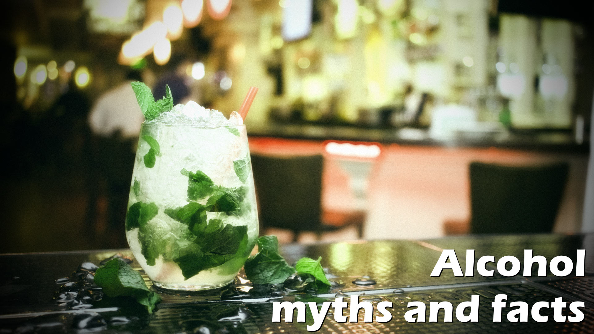 Alcohol myths and facts