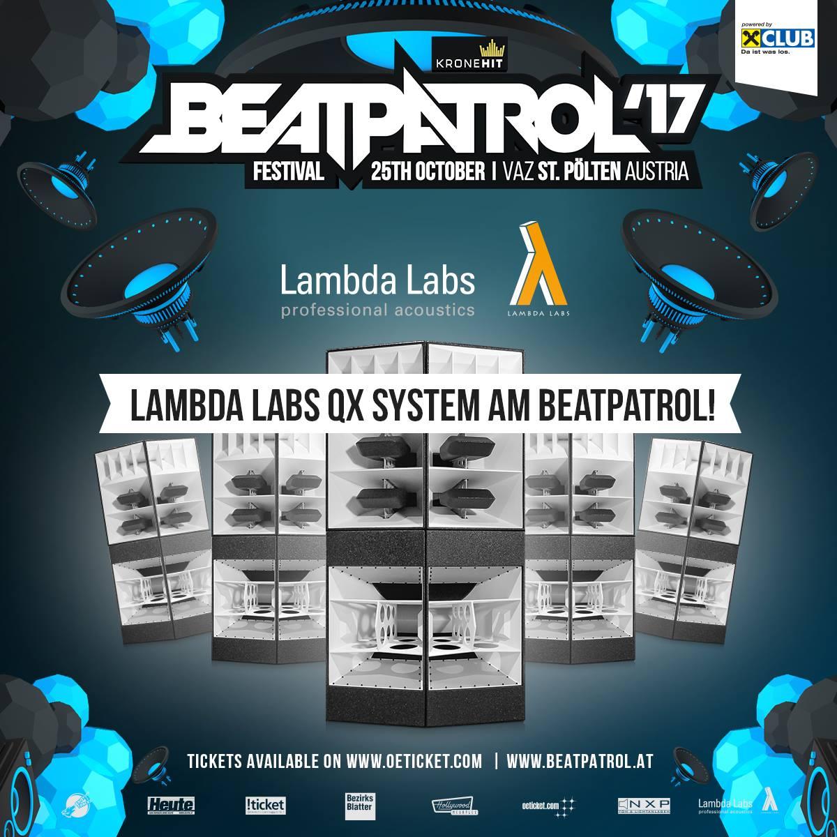 Beatpatrol Festival St. Pölten mit Lambda Labs – QX Series